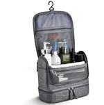 trousse de toilette voyage grise travel bag