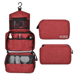 trousse de toilette rouge travelbasics