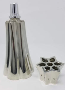 Lampe Berger Shooting Star, in Brilliant Pewter - Limited Edition Lamp