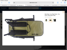Load image into Gallery viewer, Mad Man ( by Mad Style- Dry Gear Messenger Bag)