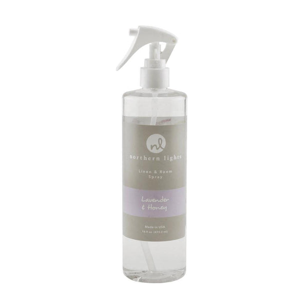 Northern Lights - Linen & Room Spray - Lavender & Honey - 16 Fl OZ