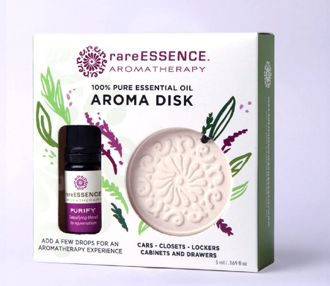 rareESSENCE Aromatherapy - Aroma Disk and Purify Oil