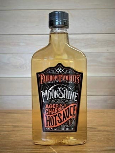 Fairhope Favorites - Moonshine Aged Charred Hot Sauce - 6.75 Ounce