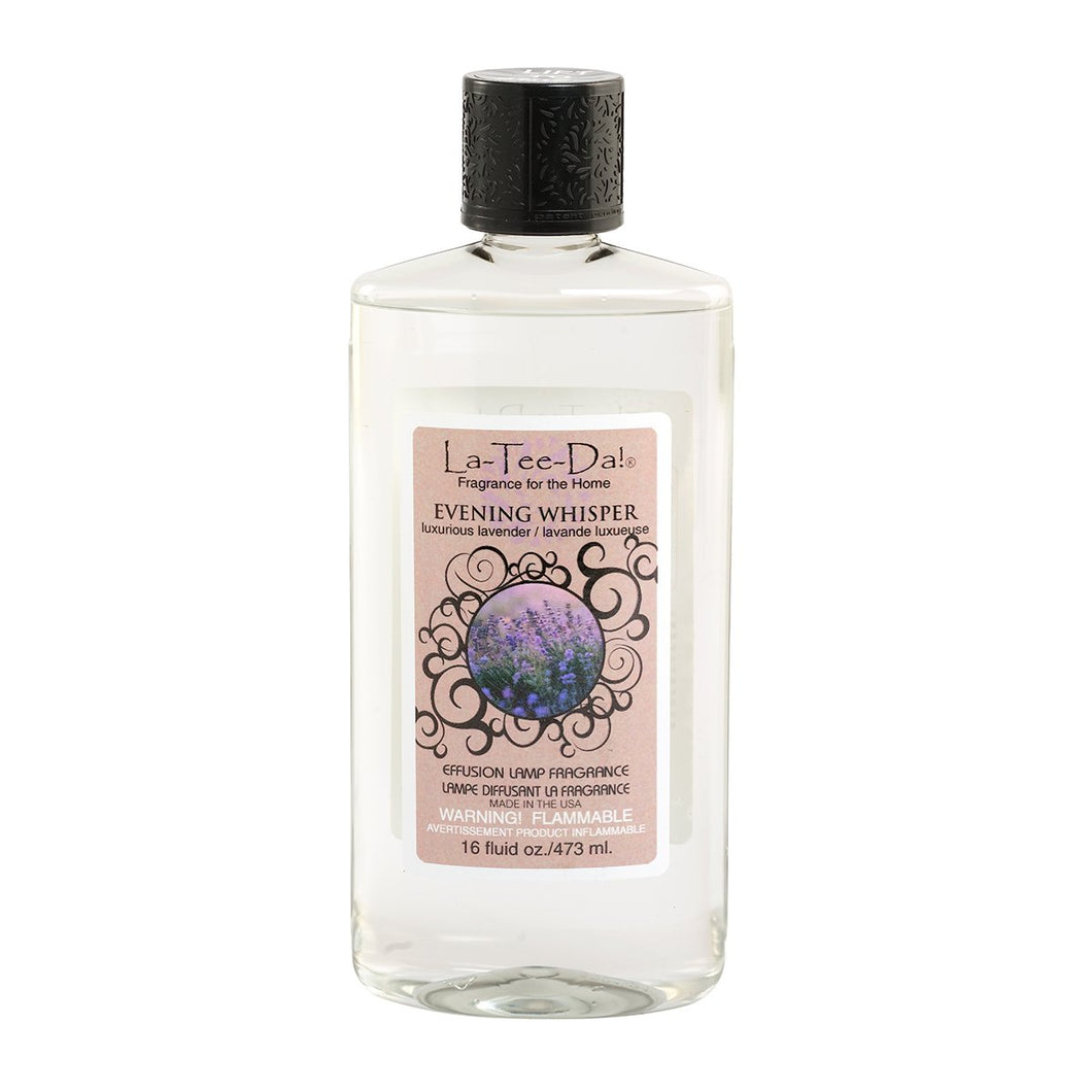 La-Tee-Da! - Effusion Fragrance Refill - Evening Whisper - 16 Fl OZ and 32 Fl OZ