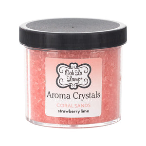 LA-TEE-DA- AROMA CRYSTALS - CORAL SANDS - STRAWBERRY LIME - 12 OZ
