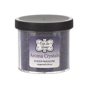 LA-TEE-DA- AROMA CRYSTALS - SHEER PARADISE - SUGARED CITRUS - 12 OZ