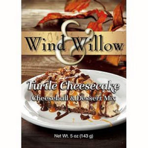 Wind & Willow Turtle Cheesecake - Cheeseball & Desert Mix - 5 OZ