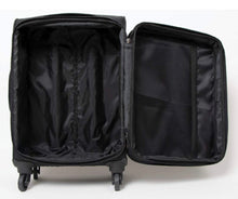 Load image into Gallery viewer, Simply Noelle Black Nylon Rolling Suitcase