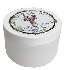 Kiss Me in The Garden - In The Woods Collection - Salt Scrub Souffle 8 OZ -Kiss000151