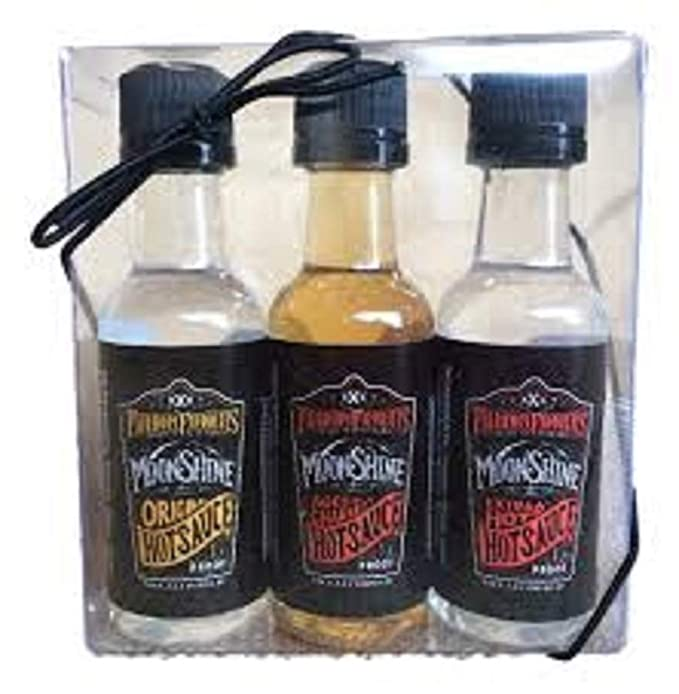 Fairhope Favorites - Hot Sauces - Original, Aged Charred & Extra Hot - 3 pack