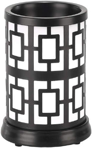 La-Tee-Da Aromalume Scent Warmer for Magic Melt Fragrance Packs and Potions (Vivi Black)