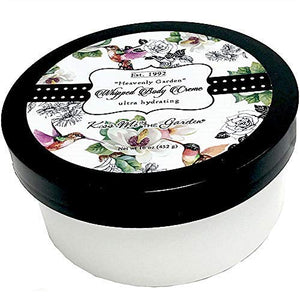 Kiss Me In The Garden - Heavenly Garden Collection - Whipped Body Creme 16 OZ - KISS00025