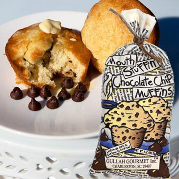 Gullah Gourmet - Mouth Stuffin' Chocolate Chip Muffin Mix - 9 OZ Bag