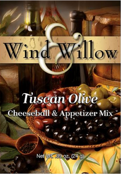 Wind & Willow - Cheeseball & Appetizer Mix - Tuscan Olive - .89 OZ