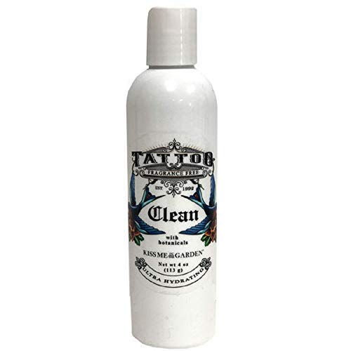 Kiss Me in The Garden - Tattooed You Collection - Clean Wash for Tattoo 4 OZ - KISS00107