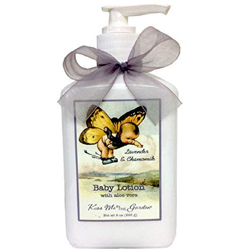 Kiss Me in The Garden - Baby Bath Collection - Baby Lotion - 8 FL OZ Pump - KISS00011