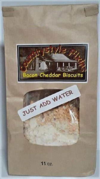 Highlands Farms -Bacon Cheddar Biscuits - Country Style Fixins