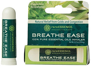 RareEssence - Breathe Ease - Aromatherapy Inhaler - 0.01 OZ