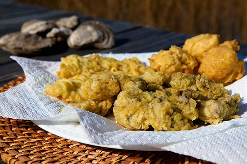 Gullah Gourmet - Fried Oyster Batter - Grandputters Fried Oysters - 9 OZ Bag