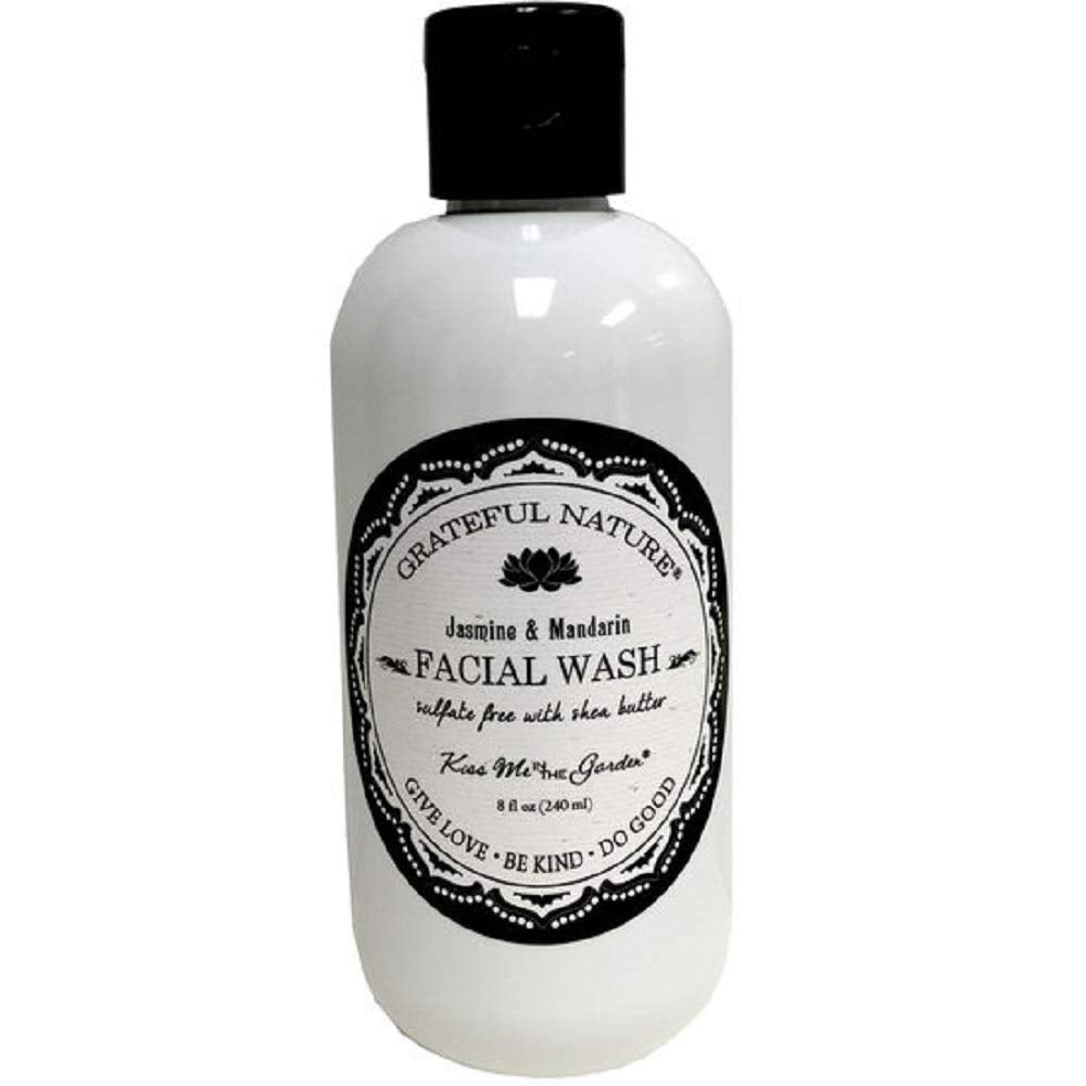 Kiss Me in The Garden - Grateful Nature Collection - Face Wash 8 fl OZ - KISS00109