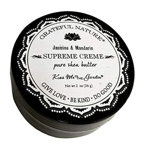 Kiss Me in The Garden - Grateful Nature - Supreme Creme 2 OZ Jar- Kiss00113