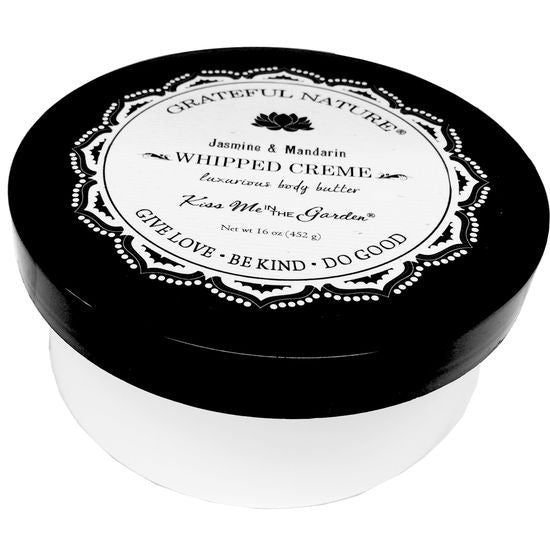 Kiss Me in The Garden - Grateful Nature - Whipped Body Creme 16 OZ - KISS00054