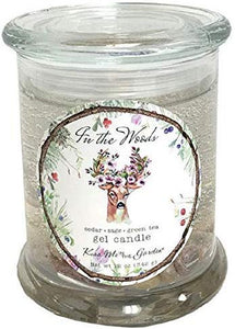 Kiss Me in the Garden - in The Woods Collection - 12 Ounce Gel Candle - Kiss00074