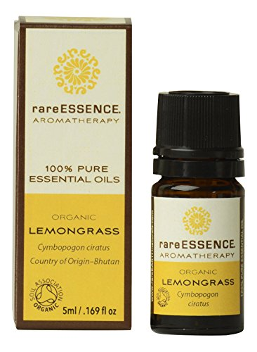 RareEssence - Aromatherapy - Essential Oil - Lemongrass { Organic } - 5ml