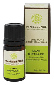 RareEssence - Aromatherapy - Essential Oil - Lime {Distilled} - 5ml