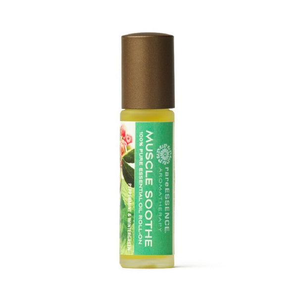RareEssence - Muscle Soothe - Aromatherapy Roll-On Oil - .33 OZ