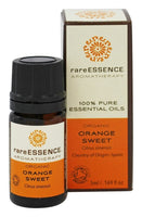 RareEssence - Aromatherapy - Essential Oil - Orange Sweet { Organic } - 5ml