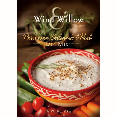 Wind & Willow - Parmesan, Balsamic & Herb Dip Mix - .8 OZ