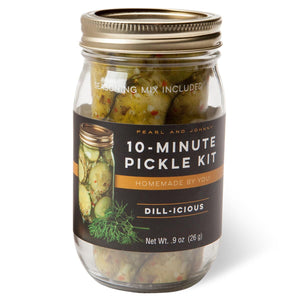 Dill-icious 10-Minute Pickle Kit Jar