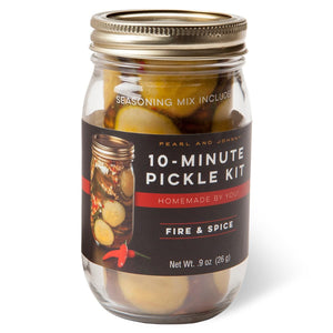Fire & Spice 10-Minute Pickle Kit Jar