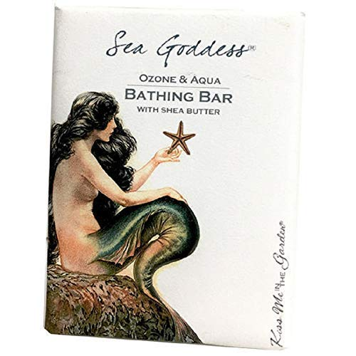 Kiss Me in The Garden - Sea Goddess Collection - Bathing Bar With Shea Butter - Kiss00069