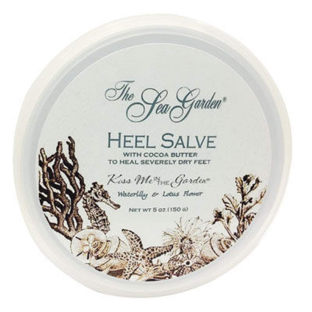 Kiss Me In The Garden - Sea Garden Collection - Heel Salve in Jar 5 OZ - KISS00101