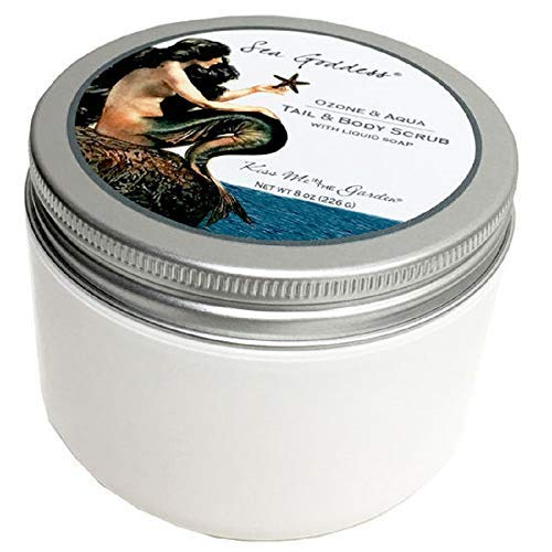 Kiss Me in The Garden - Sea Goddess Collection - Tail and Body Salt Scrub -  Kiss00067