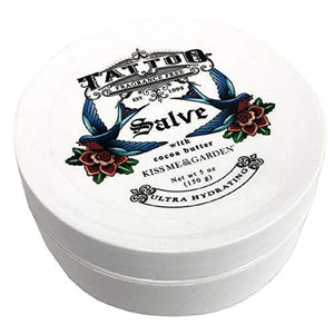 Kiss Me in The Garden - Tattooed You Collection - Healing Salve with Coco Butter 5 OZ - KISS00105
