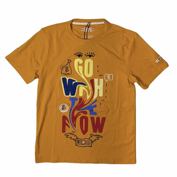 Bkys Go With The Flow T-shirt - T224 Cheddar