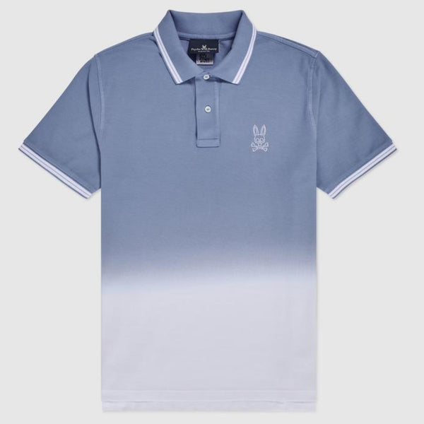 Psycho Bunny - Men's Fairbanks Ombre Polo Lapis Blue