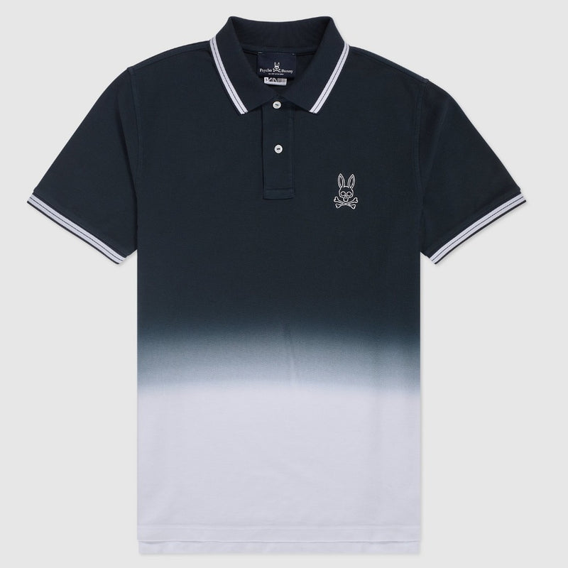 Psycho Bunny - Men's Fairbanks Ombre Polo Navy Blue