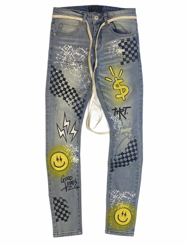 THRT Good Vibe Jeans / Yellow