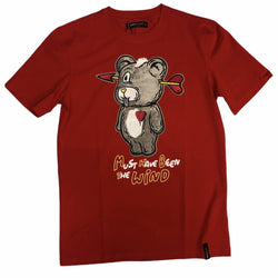Roku Studio - Arrow Head Teddy Tee Red