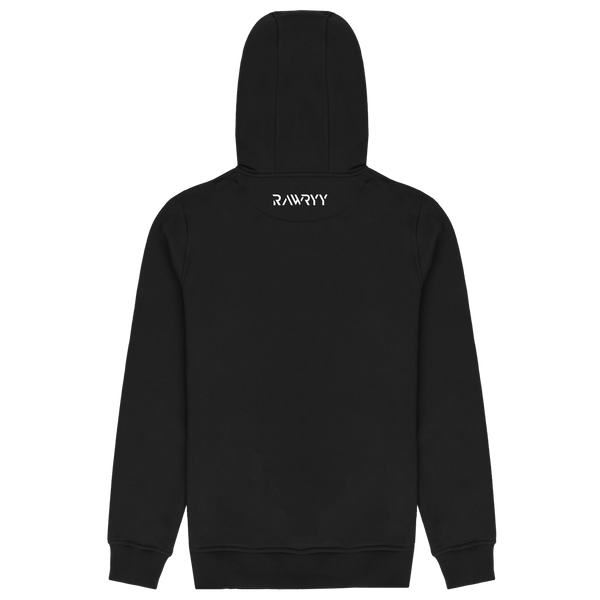 Classic Embroidered Zip Hoodie