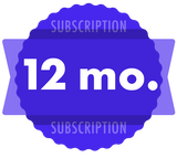 12-Month Subscription - Discounted (auto-renews every 12 months)