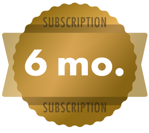 6-Month Subscription - Discounted (auto-renews every 6 months)