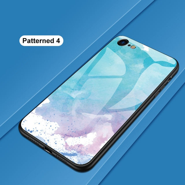 Luxury Glass Cover Case