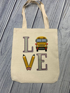 Bus Driver Customized Tote