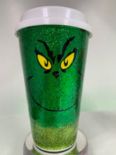 "Load image into Gallery viewer, ""Grinch"" Coffee Cup"