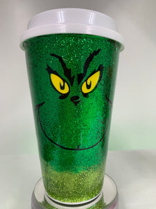 """Grinch"" Coffee Cup"